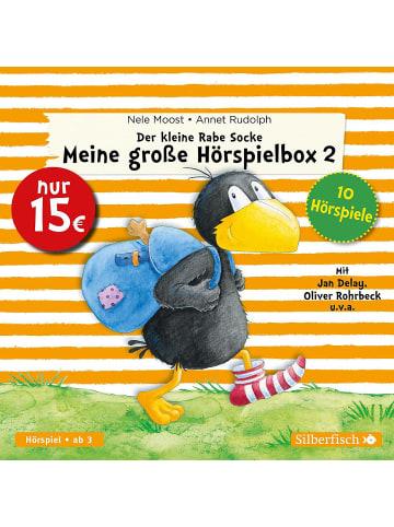 Silberfisch Verlag Der kleine Rabe Socke – Meine große Hörspielbox 2