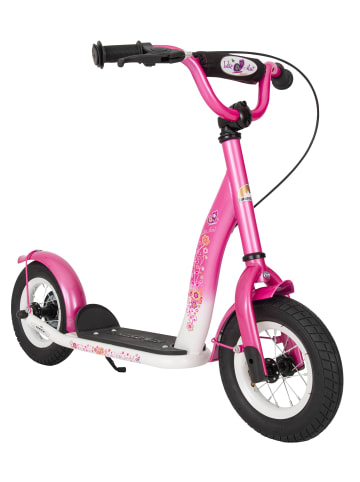 """BIKESTAR Kinder Roller """"Classic"""" in Pink Weiß - 10 Zoll"""