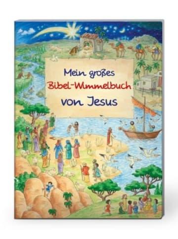 Deutsche Bibelgesellschaft Mein großes Bibel-Wimmelbuch von Jesus