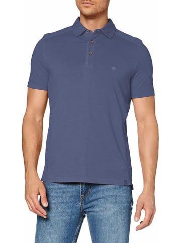 Camel Active Poloshirt kurzarm in blau