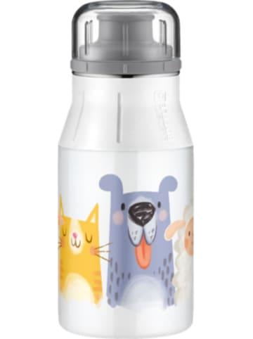 Alfi Edelstahl Trinkflasche Drinking Bottle cute animals, 400 ml