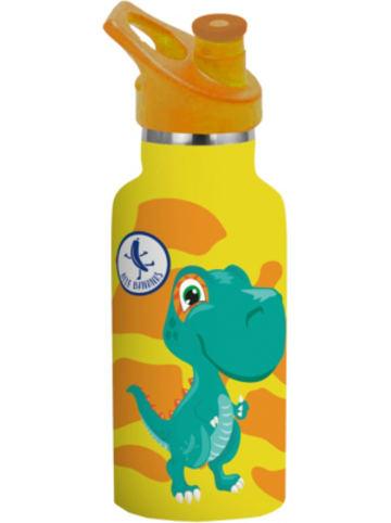 P:os Edelstahl-Trinkflasche Blue Bananas Kids Dino, doppelwandig, 350 ml