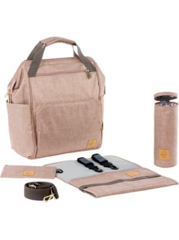 Lässig Wickelrucksack Glam Goldie, Backpack, rose