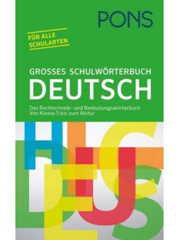 PONS PONS Großes Schulwörterbuch Deutsch