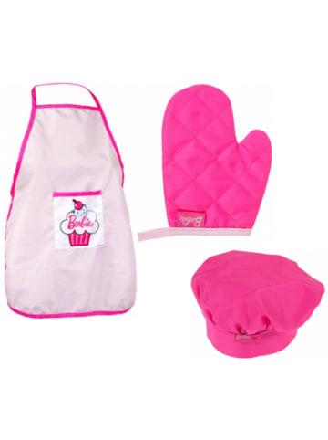 Mega Creative Barbie Back-Set mit Küchenschürze, Ofenhandschuh & Kochmütze