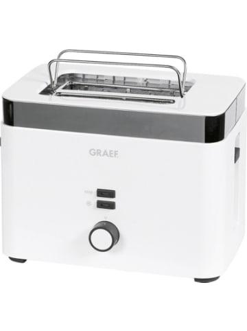 Graef Toaster für 2 Toastscheiben, 1.000Watt