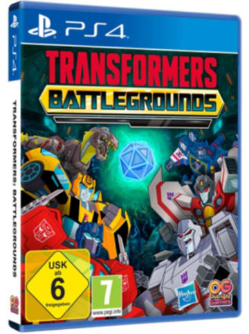 Transformers PS4 Transformers: Battlegrounds