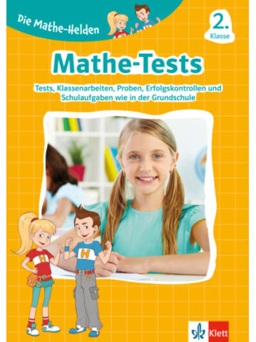 Klett Kinderbuch Klett Die Mathe-Helden: Mathe-Tests 2. Klasse