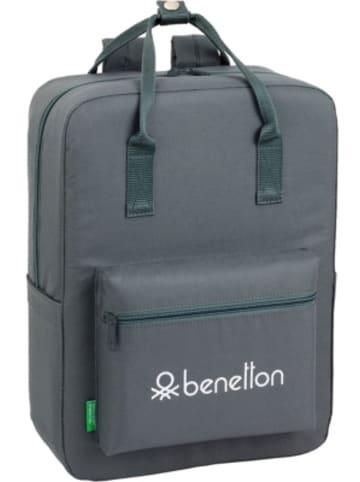 United Colors of Benetton Freizeitrucksack Benetton Basic anthrazit
