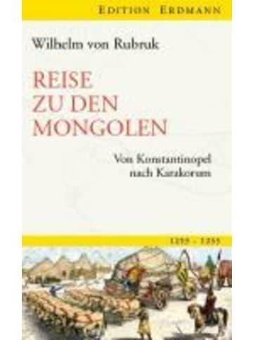 Edition Erdmann Reise zu den Mongolen | Von Konstantinopel nach Karakorum