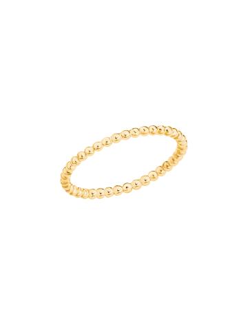 S. Oliver Jewel Ring Silber 925, gelbvergoldet in Gold