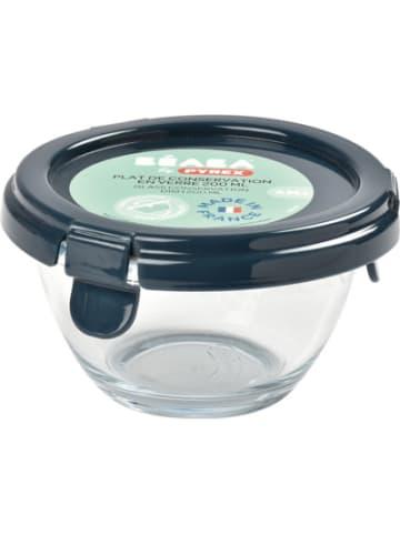 Beaba Pyrex Portionsbehälter aus Glas - Dunkelblau