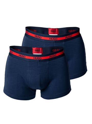 HUGO Boxershort 2er Pack in Blau