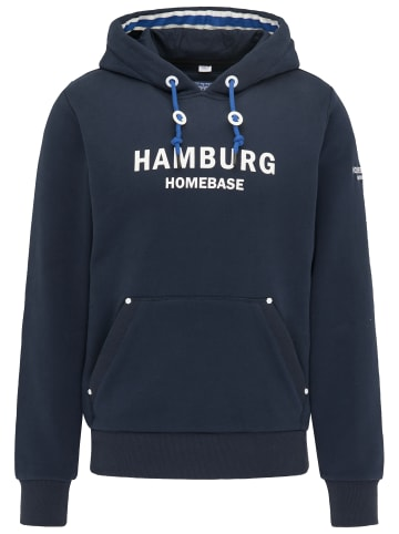 Homebase Hoodie - Hamburg in Marine
