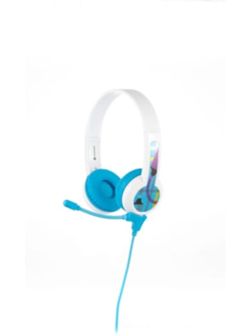 BuddyPhones Kinder On-Ear Kopfhörer - BuddyPhones StudyBuddy, blau