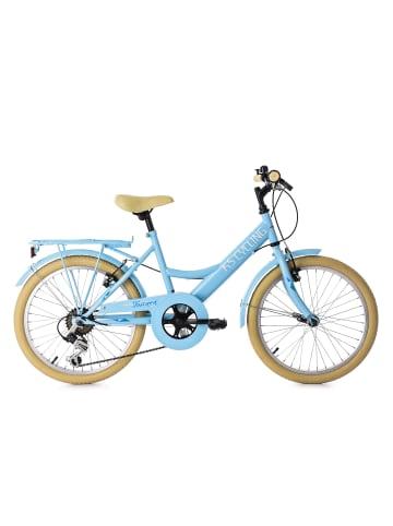 "KS CYCLING Jugendfahrrad 6 Gänge ""Toscana"" 20 Zoll in Blau"