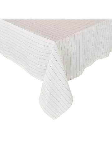 Butlers Tischdecke L 250 x B 160cm BLURRED LINES in schwarz und weiß