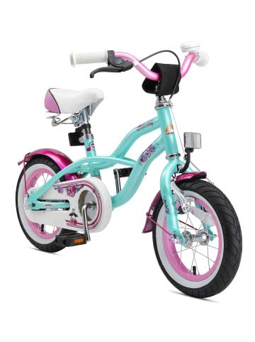 "BIKESTAR Kinder Fahrrad ""Cruiser"" in Mint - 12 Zoll"