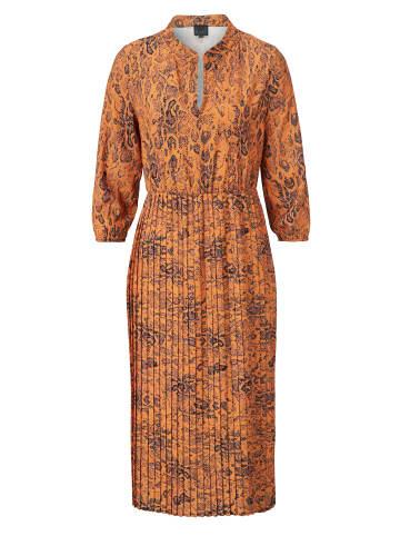 Reken Maar Kleid in Cognac