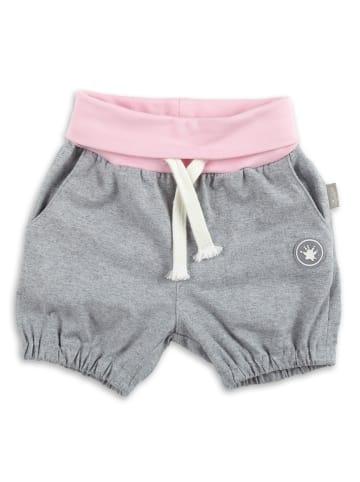 Sigikid Shorts in Grau meliert / Rosa