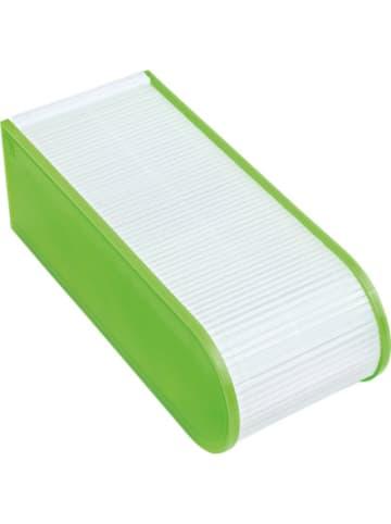 Online Lernkartei A8 grün, inkl. 100 Karteikarten liniert