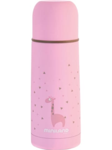 Miniland Thermoflasche Silky Thermo, 350 ml, pink