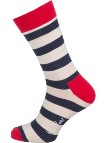 Happy Socks 1er Pack Stripe Socken