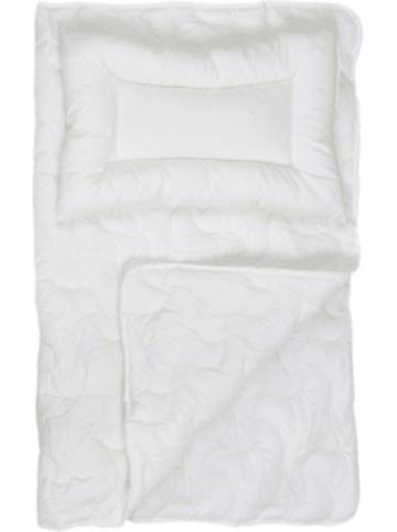 Urra Kinder Bettdecke & Kissen Set BAMBOO, Naturfaser, 100 x 135 und 40 x 60 cm