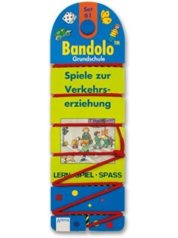 Arena Verlag Bandolo (Spiele), 61 Spiele zur Verkehrserziehung (Kinderspiel)