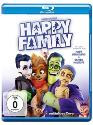 Warner Home Video BLU-RAY Happy Family
