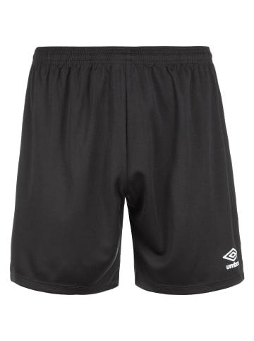 Umbro Shorts Club II in schwarz