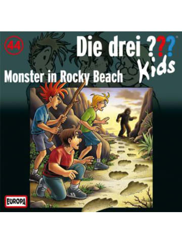 Die drei Fragezeichen Die drei Fragezeichen-Kids: Monster in Rocky Beach, Audio-CD