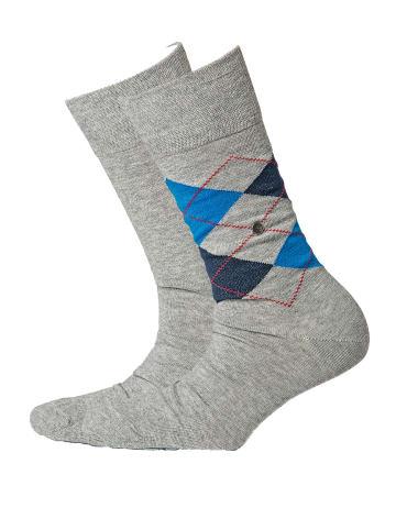 Burlington Socken 2er Pack in Grau