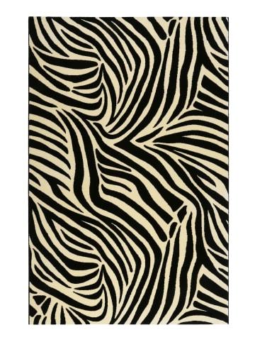 Wecon Home Teppich Zebra in schwarz-weiss