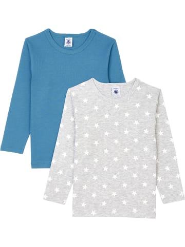 PETIT BATEAU T-Shirt 2er-Pack, Organic Cotton