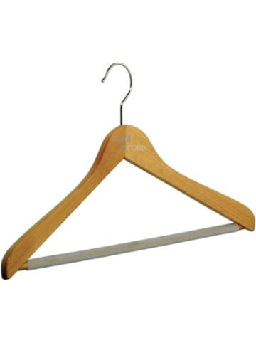 Pieperconcept Holz Kleiderbügel Buche,mit Steg