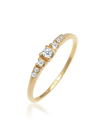 DIAMORE Ring 585 Weißgold Verlobungsring in Gold