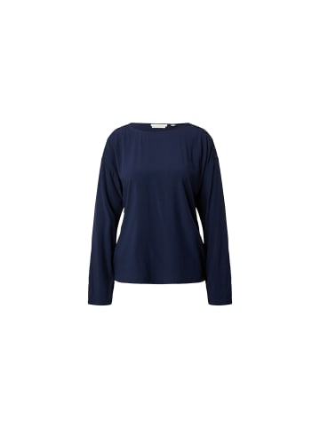 Tom Tailor Unifarben Hemden in marineblau