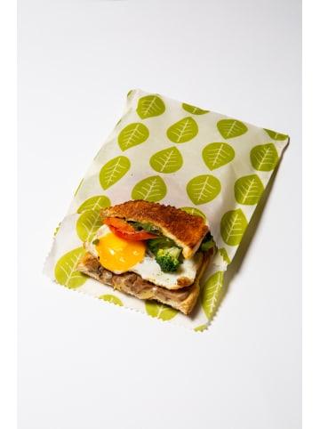 NUTS 2tlg Set Pflanzenwachs Vegan Sandwich wrap