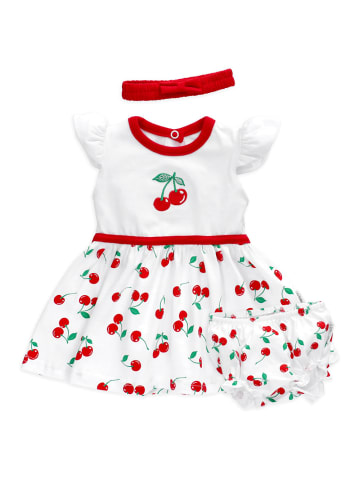 Baby Sweets 3tlg Set Kleid + Shorts + Mütze Lieblingsstücke Kleider in bunt