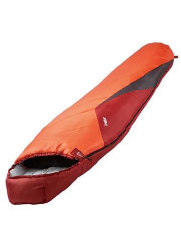 Explorer Mumienschlafsack Trekker in Orange/rot/grau