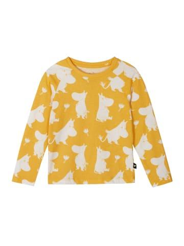 "Reima Longsleeve "" Moomin Smultron "" in Warm yellow"