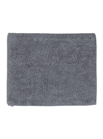 Relaxdays Badteppich in Grau - (B)40 x (T)50 cm