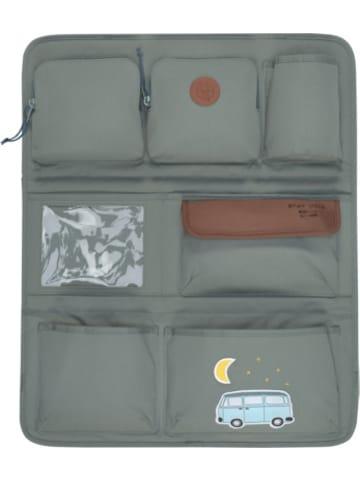 Lässig Auto-Rückenlehnentasche 4kids Wrap-to-Go, Adventure Bus, blue
