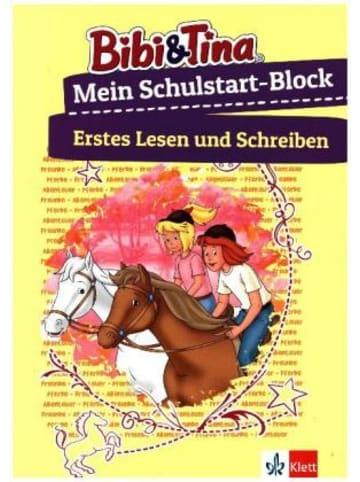 Klett Kinderbuch Bibi & Tina Mein Schulstart-Block - Erstes Lesen und Schreiben