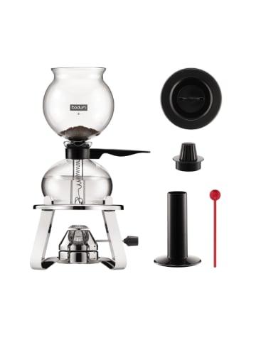"""Bodum Vakuum Kaffeebereiter und Accessoires """"PEBO®"""" in Silber - 1 l"""