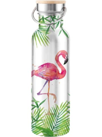 """Ppd Edelstahl Isolierflasche """"Flamingo"""", 750 ml"""
