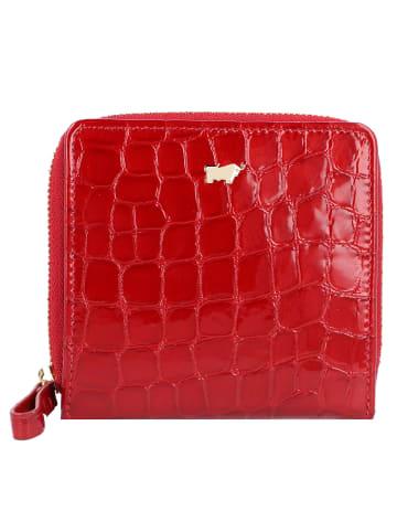 Braun Büffel Verona Geldbörse Leder 10 cm in rot
