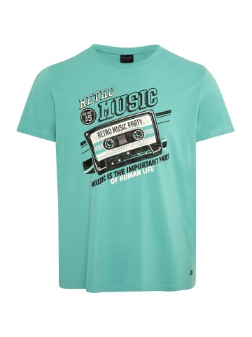 Oklahoma Premium Denim T-Shirt in 16-5418 Lagoon