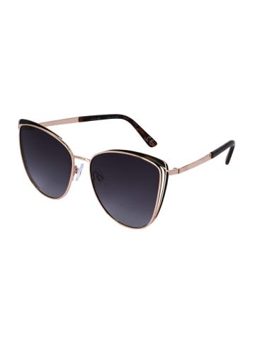 TOSH Cateye Sonnenbrille mit Schildpatt-Details in SMOKE